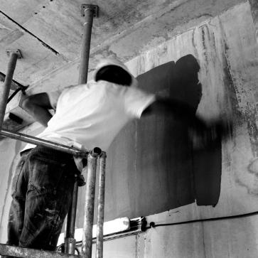 commande SFR - chantier de La Plaine Saint Denis 2ème prise de vue - JUILLET 2012