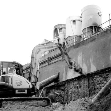 commande SFR - chantier de La Plaine Saint Denis